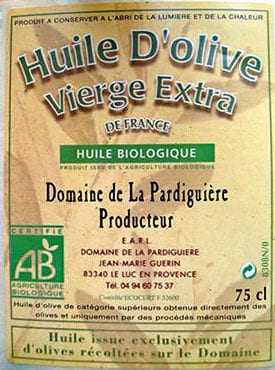 French Olive Oil Producers Going Organic