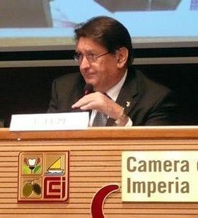 Enrico Lupi | Ufficiale al Mediterranean Diet Forum, Presidente di Città dell'Olio e Vice Presidente della Camera di Commercio di Imperia