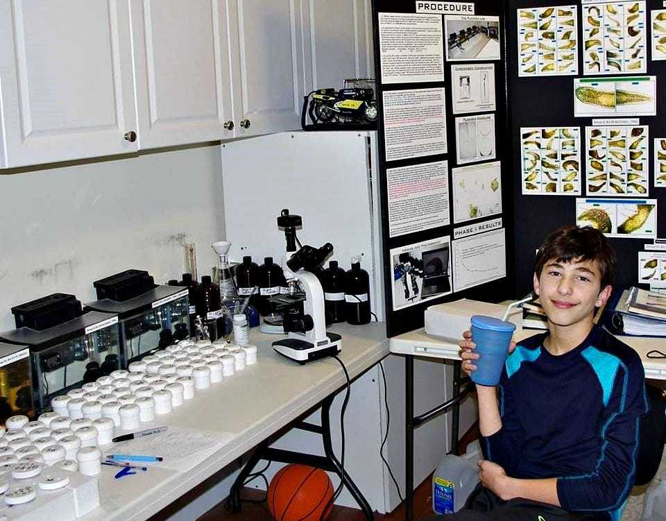 7thgrader-finds-cancerfighting-chemical-in-green-tea