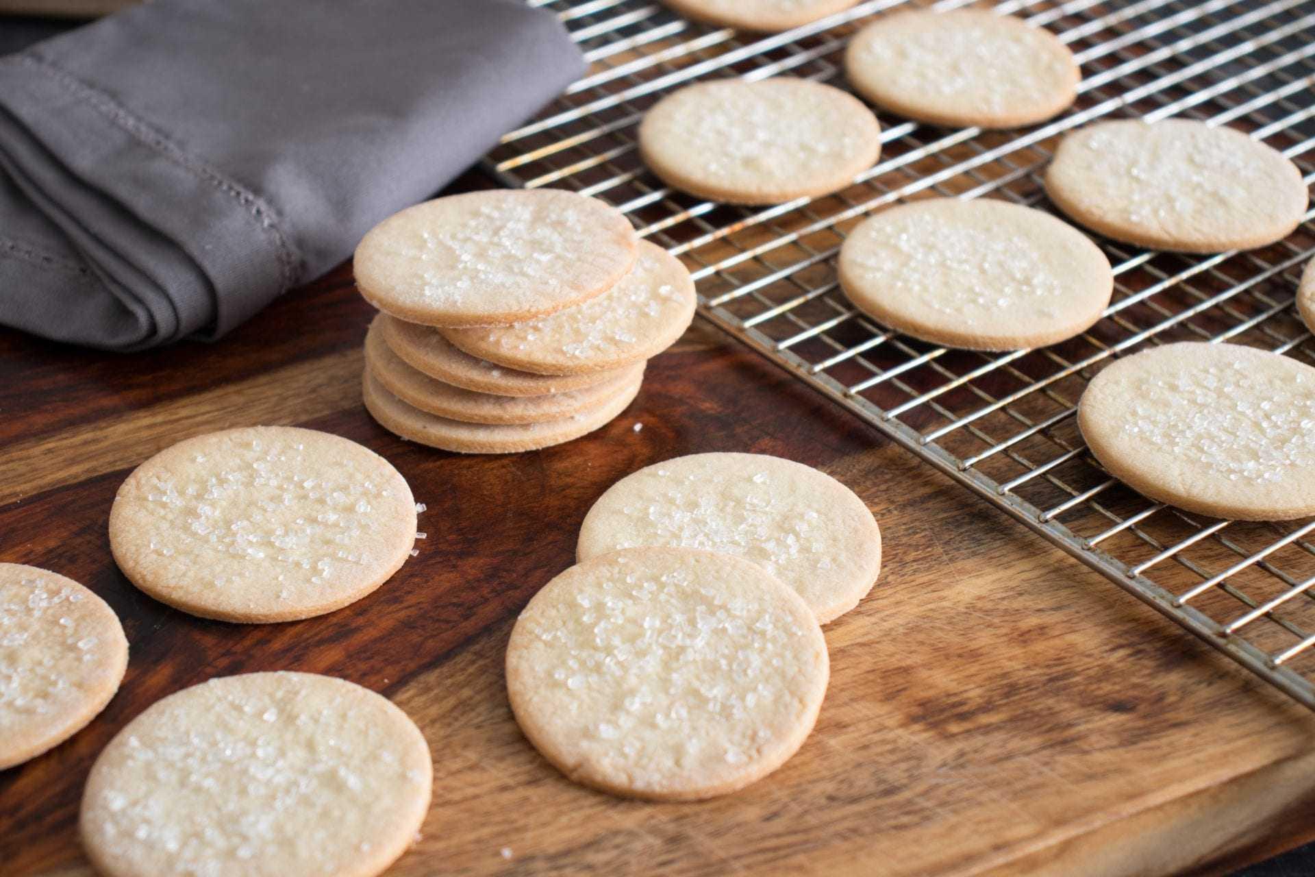 Olive Oil Sablé Cookies