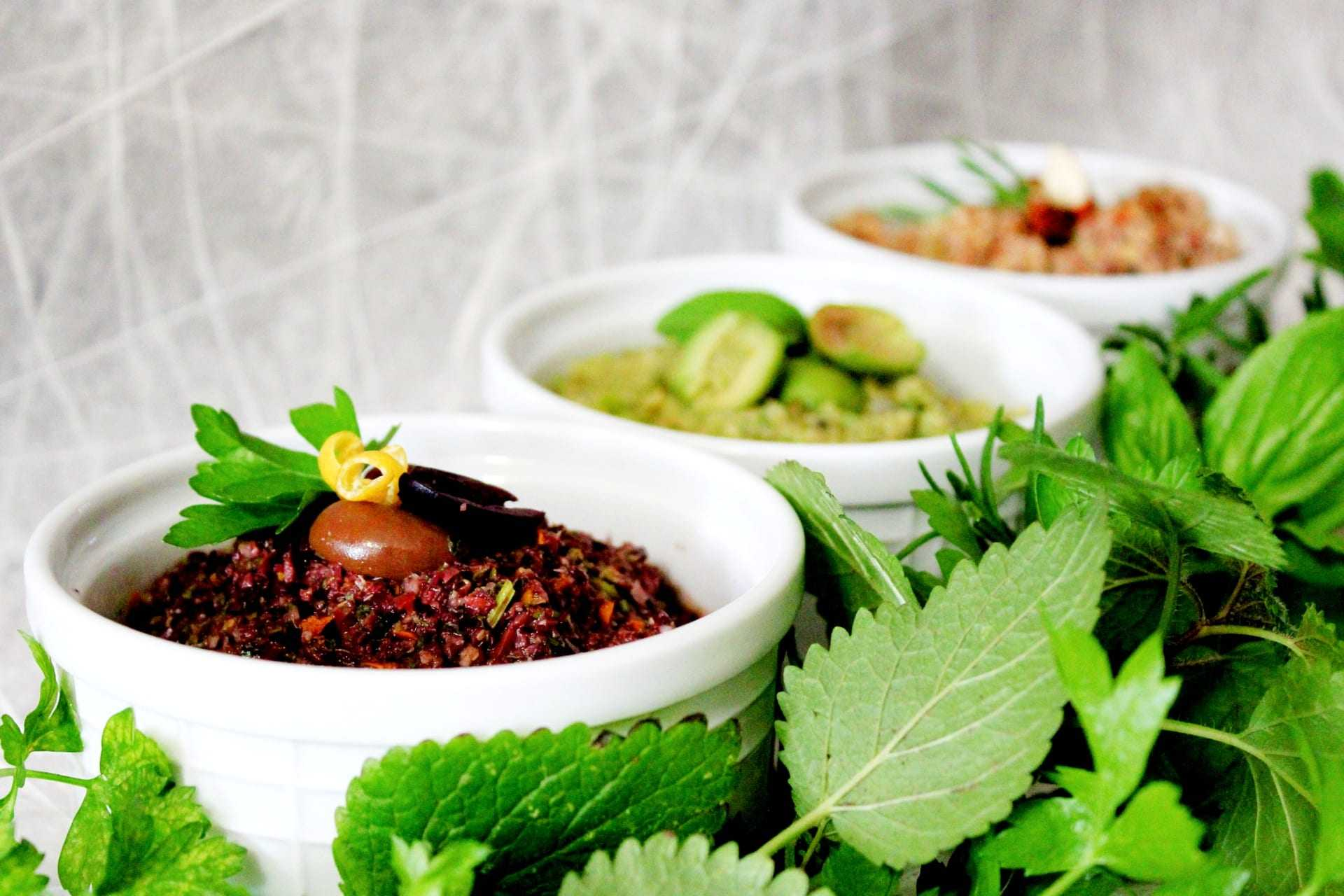 Olive Tapenade - 3 Ways