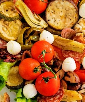 Olive Oil Roasted Vegetable Antipasto