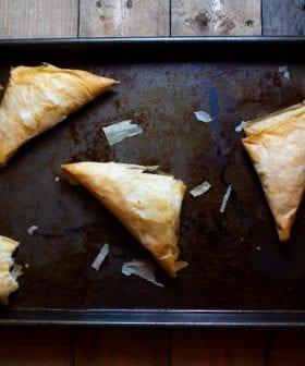 Τυρί Φέτα και Φύλλο